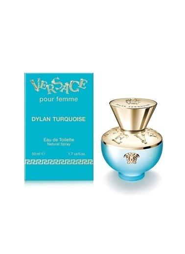 Versace Versace Dylan Turquoise EDT 50 ml KadınParfümü Renksiz